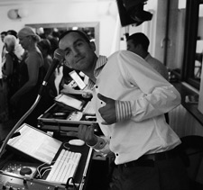 Un DJ professionnel